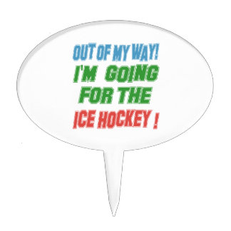 I'm going for the Ice Hockey. Cake Toppers
