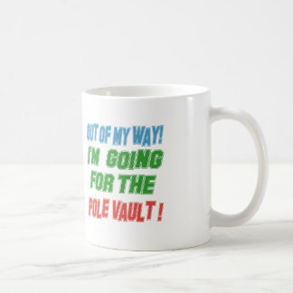 I'm going for the Pole vault. Coffee Mugs