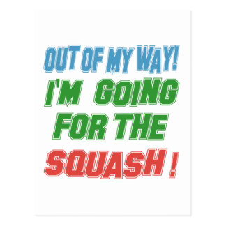 I'm going for the Squash. Post Card