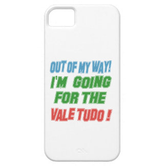 I'm Going For The Vale Tudo. iPhone 5 Case