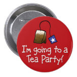 I'm Going to a TEA PARTY! Pin