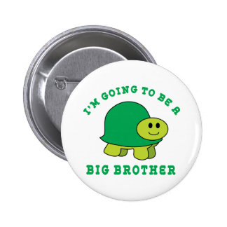 I'm Going To Be A Big Brother 6 Cm Round Badge