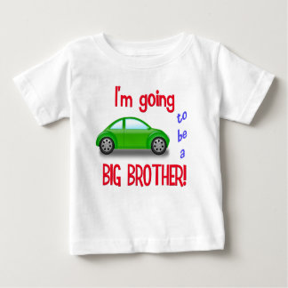 I'm going to be a big brother car t-shirt