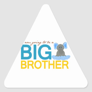 I'm Going to be a Big Brother Elephant Stickers