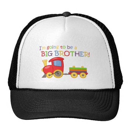 I'm going to be a big brother! hat