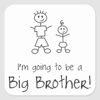I'm going to be a Big Brother! Stickers