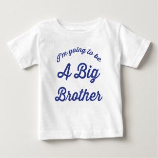 I'm going to be a Big Brother T Shirt in Blue