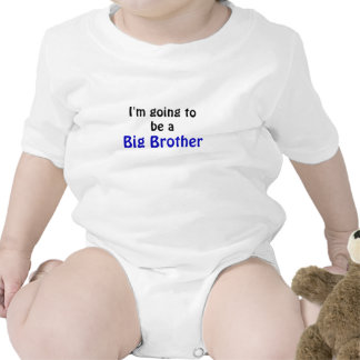 Im Going to be a Big Brother Baby Bodysuit