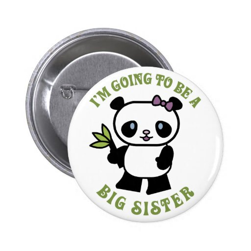 I'm Going To Be A Big Sister Pins