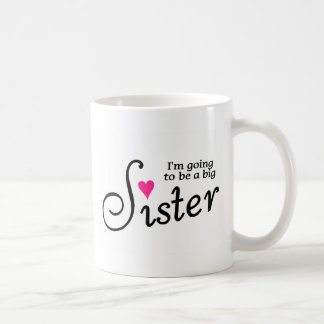 Im Going To Be A Big Sister Coffee Mugs
