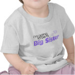 I'm going to be a big sister t-shirts