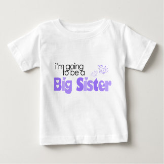 I'm going to be a big sister tee shirts