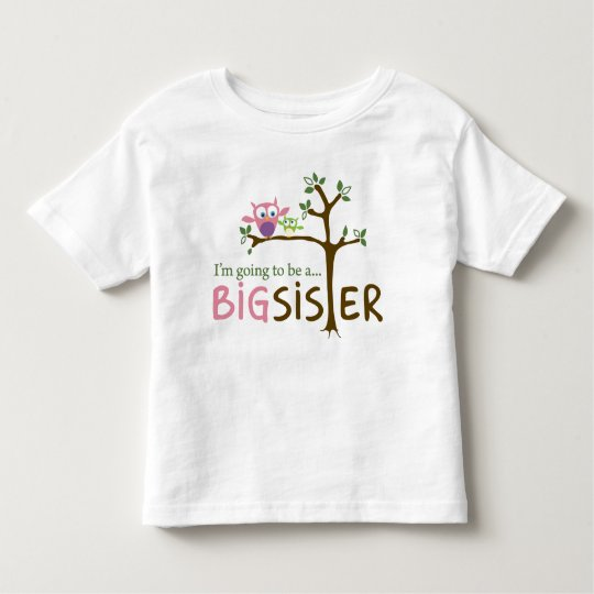 I'm going to be a BIG SISTER Toddler