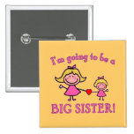 I'm Going to Be a Big Sister Tshirt Badge