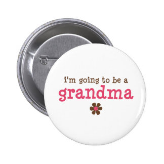 I'm going to be a grandma T-shirt 6 Cm Round Badge