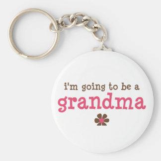 I'm going to be a grandma T-shirt Key Ring