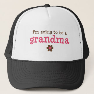 I'm going to be a grandma T-shirt Trucker Hat