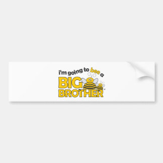 I'm Going to BEE a Big Brother T-shirt Bumper Sticker