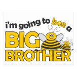 I'm Going to BEE a Big Brother T-shirt Postcards