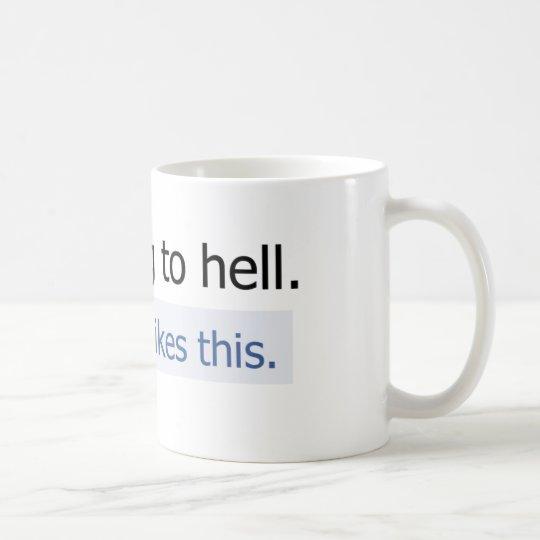 I'm going to hell coffee mug