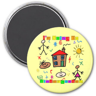 I'm Going to Kindergarten Fridge Magnets