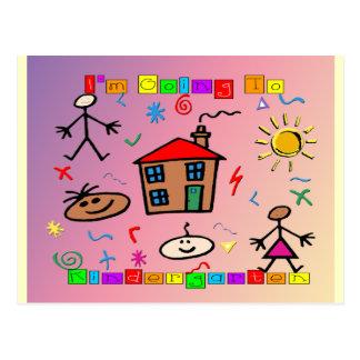 I'm Going to Kindergarten Postcard