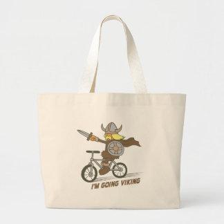 I'm Going Viking Jumbo Tote Bag