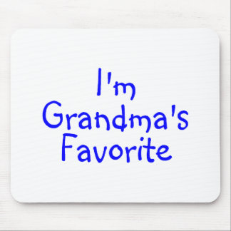 Im Grandmas Favorite Blue Mouse Pad