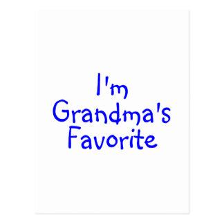 Im Grandmas Favorite Blue Postcard