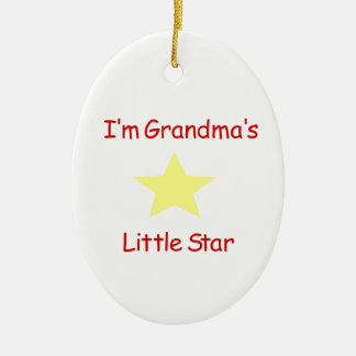 I'm Grandma's Star Christmas Ornament