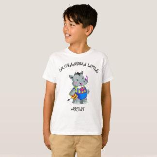 I'm Grandpas Little Artist T-Shirt