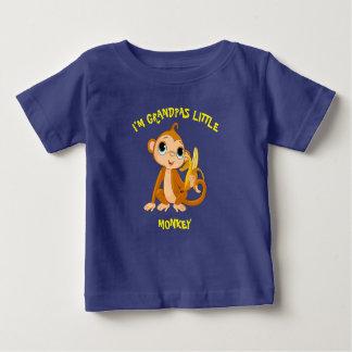 I'm Grandpas Little Monkey Baby T-Shirt