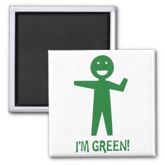 I'm Green Square Magnet