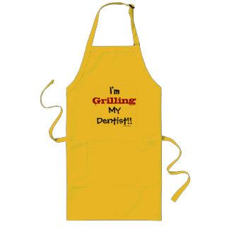 I'm Grilling My Dentist! Funny Cruel Dental Apron