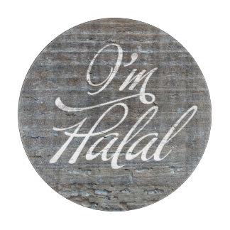 I'm Halal Round Cutting Board