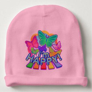 I'm Happy! baby pink Beanie Baby Beanie