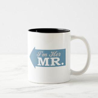 I'm Her Mr. (Blue Arrow) Coffee Mug