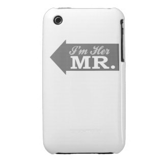 I'm Her Mr. (Gray Arrow) iPhone 3 Cover