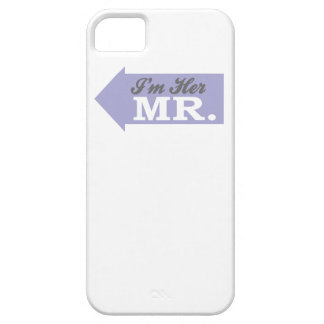 I'm Her Mr. (Violet Arrow) iPhone 5 Cases