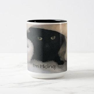 I'm Hiding Two-Tone Coffee Mug