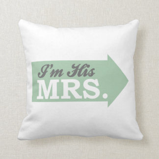 Browse our Collection of Mr & Mrs Cushions and personalise by colour, design or style.