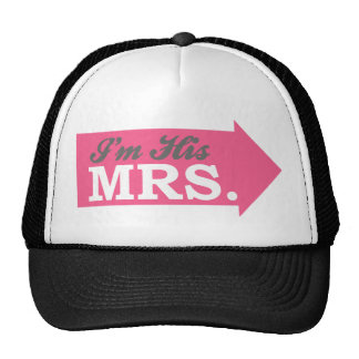 I'm His Mrs. (Hot Pink Arrow) Cap