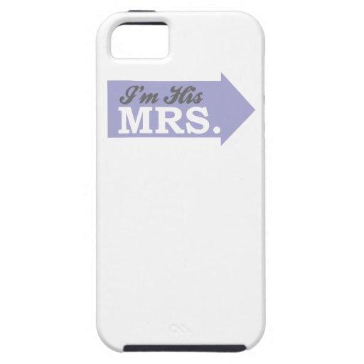 I'm His Mrs. (Violet Purple Arrow) iPhone 5 Cases