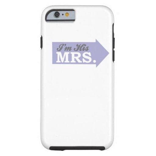 I'm His Mrs. (Violet Purple Arrow) iPhone 6 Case