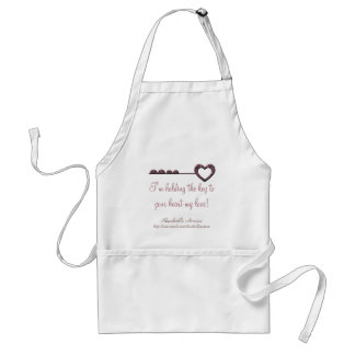 I'm holding the key to your heart my love! Apron