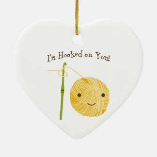 I'm Hooked on You! Christmas Ornament