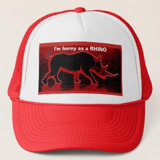 I'm horny as a Rhino Trucker's Hat  eZaZZleMan.com