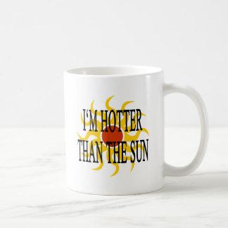I'm Hotter Than The Sun Basic White Mug