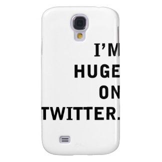 I'm Hudge On Twitter Samsung Galaxy S4 Cover