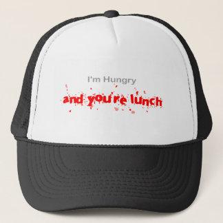 I'm hungry...... trucker hat